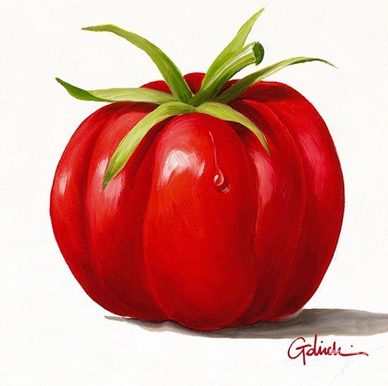 paolo golinelli pomodoro fertig bild 30x30 tomate gem se k che essen ebay. Black Bedroom Furniture Sets. Home Design Ideas