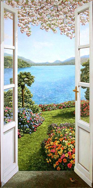 Del missier giardino fiorito garten fertig bild 50x100 for Giardino fiorito